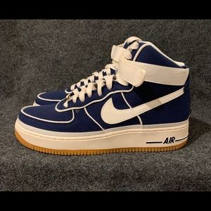 new concept 90f3a a538a Nike Shoes - Nike Air Force 1 High  07 LV8 New Blue Sail sz 9.5